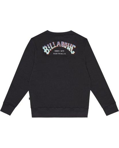 3 Arching - Sweatshirt für Jungen Schwarz S2CR01BIP0 Billabong