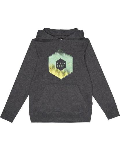 2 X Cess Hood - Fleece for Boys Black S2HO02BIP0 Billabong