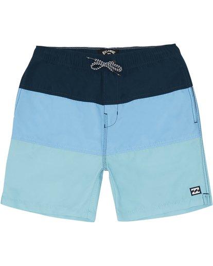 """2 Tribong Laybacks 14"""" - Bañador de surf de pantalón para Niño Azul S2LB03BIP0 Billabong"""