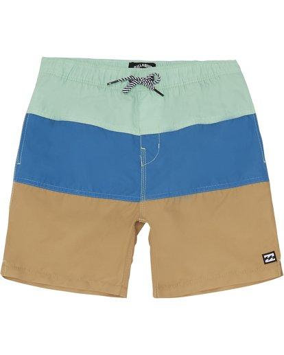 "2 Tribong Laybacks 14"" - Boardshorts für Jungen Grün S2LB03BIP0 Billabong"
