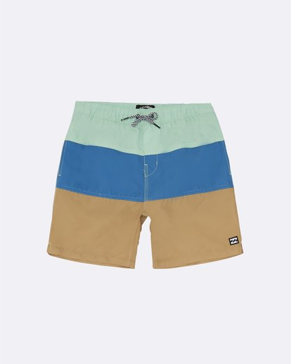 "0 Tribong Laybacks 14"" - Boardshorts für Jungen Grün S2LB03BIP0 Billabong"