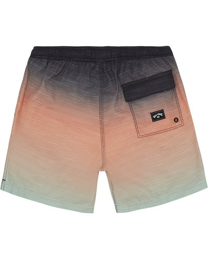 "3 All Day Faded Laybacks 16"" - Bordshorts mit Gummibund für Jungen Grün S2LB06BIP0 Billabong"