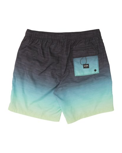 "3 All Day Faded Laybacks 16"" - Bordshorts mit Gummibund für Jungen Gelb S2LB06BIP0 Billabong"