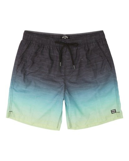 "2 All Day Faded Laybacks 16"" - Boardshort à taille élastique pour Garçon Jaune S2LB06BIP0 Billabong"