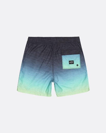 "1 All Day Faded Laybacks 16"" - Boardshort à taille élastique pour Garçon Jaune S2LB06BIP0 Billabong"