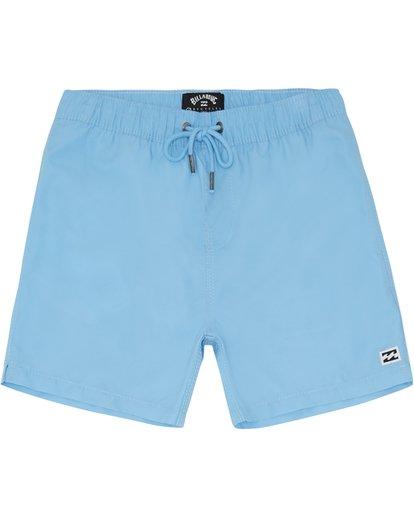"2 All Day Laybacks 14"" - Board Shorts for Boys Blue S2LB08BIP0 Billabong"