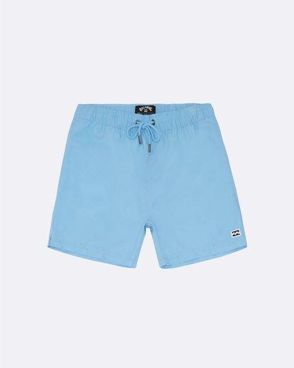 "0 All Day Laybacks 14"" - Board Shorts for Boys Blue S2LB08BIP0 Billabong"
