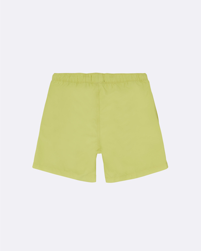 "1 All Day Laybacks 14"" - Board Shorts for Boys Yellow S2LB08BIP0 Billabong"