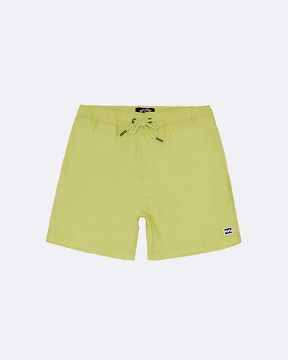 "0 All Day Laybacks 14"" - Board Shorts for Boys Yellow S2LB08BIP0 Billabong"