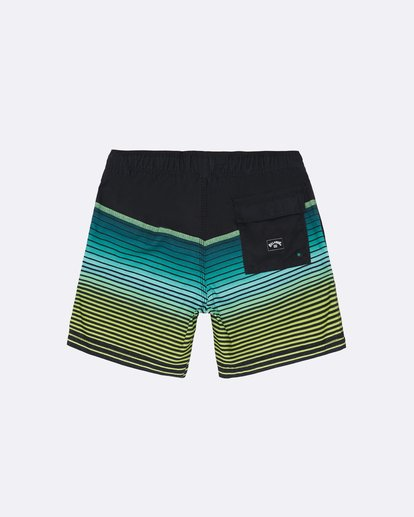 """1 All Day Stripe Laybacks 16"""" - Bañador de surf de pantalón para Niño Negro S2LB12BIP0 Billabong"""