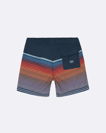 "1 All Day Stripe Laybacks 16"" - Bañador de surf de pantalón para Niño Azul S2LB12BIP0 Billabong"