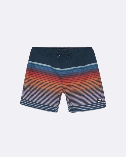"0 All Day Stripe Laybacks 16"" - Bañador de surf de pantalón para Niño Azul S2LB12BIP0 Billabong"