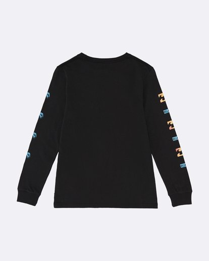 1 BBTV - Long Sleeve T-Shirt for Boys Black S2LS01BIP0 Billabong