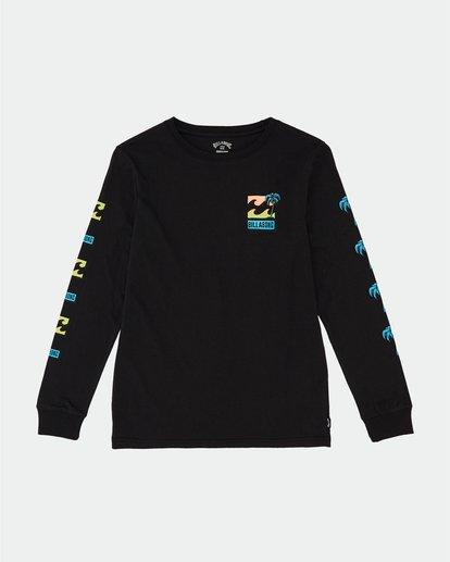 0 BBTV - Long Sleeve T-Shirt for Boys Black S2LS01BIP0 Billabong
