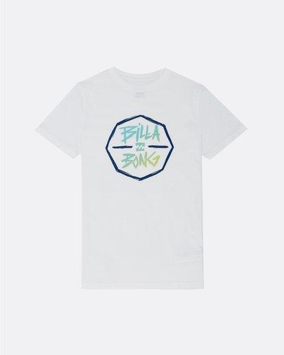 0 Octo - T-Shirt pour Garçon Blanc S2SS01BIP0 Billabong