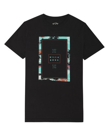 2 Tucked - T-Shirt für Jungen Schwarz S2SS03BIP0 Billabong