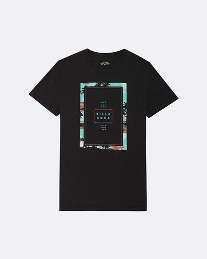 0 Tucked - T-Shirt für Jungen Schwarz S2SS03BIP0 Billabong