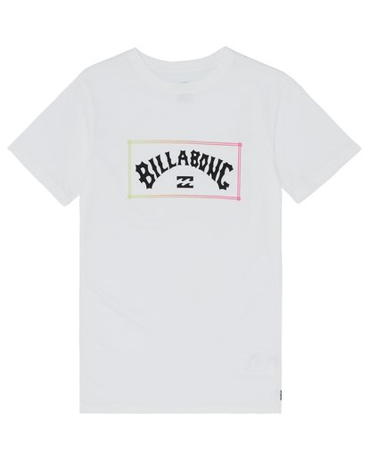 2 Arch - Camiseta para Niño Blanco S2SS04BIP0 Billabong