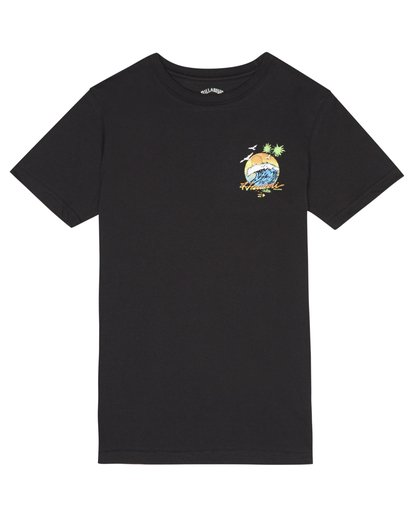 2 Dreamy Place - T-Shirt for Boys Black S2SS06BIP0 Billabong