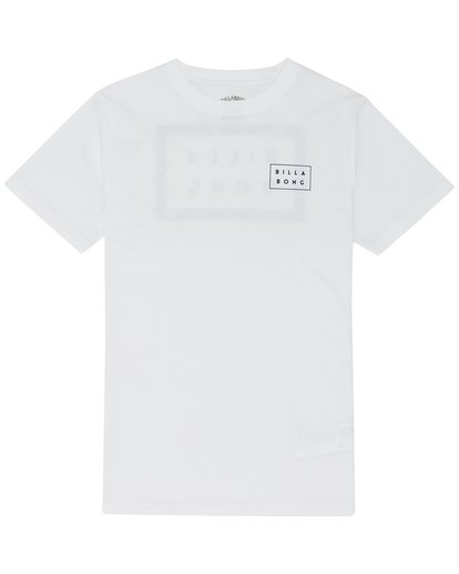 2 Die Cut - T-Shirt for Boys White S2SS08BIP0 Billabong