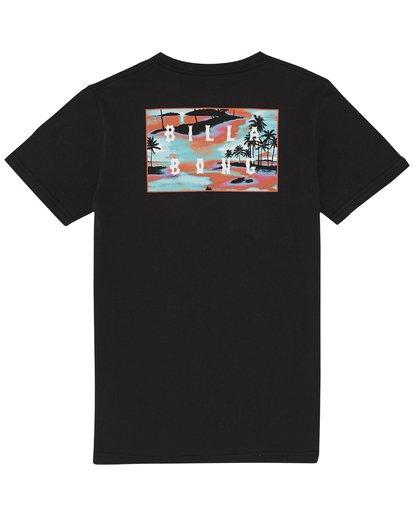 3 Die Cut - T-Shirt for Boys Black S2SS08BIP0 Billabong