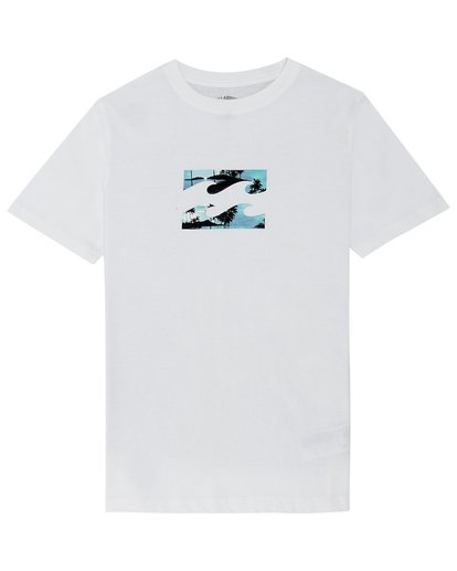 2 Team Wave - Camiseta para Niño Blanco S2SS09BIP0 Billabong