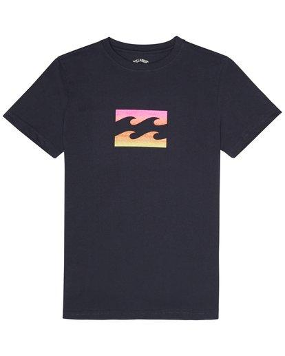2 Team Wave - T-Shirt für Jungen Blau S2SS09BIP0 Billabong