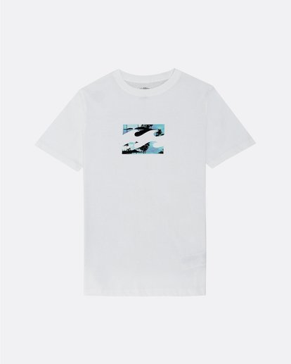 0 Team Wave - Camiseta para Niño Blanco S2SS09BIP0 Billabong