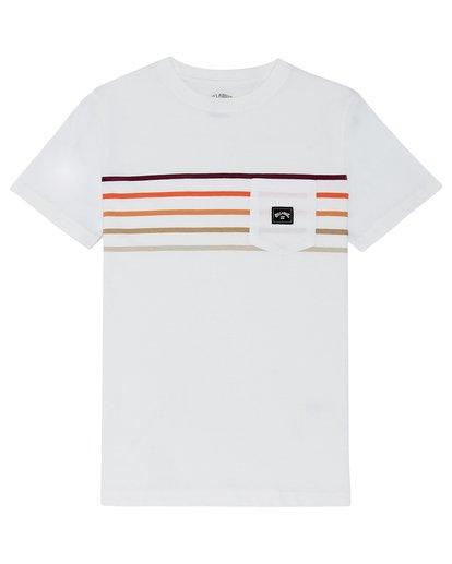 2 Riot Spinner - T-Shirt for Boys White S2SS11BIP0 Billabong
