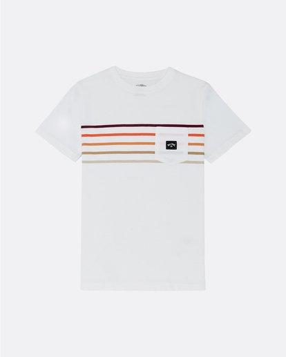 0 Riot Spinner - T-Shirt for Boys White S2SS11BIP0 Billabong