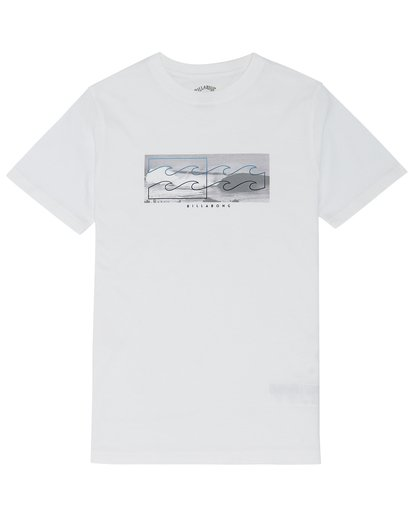 2 Inverse - T-Shirt for Boys White S2SS12BIP0 Billabong