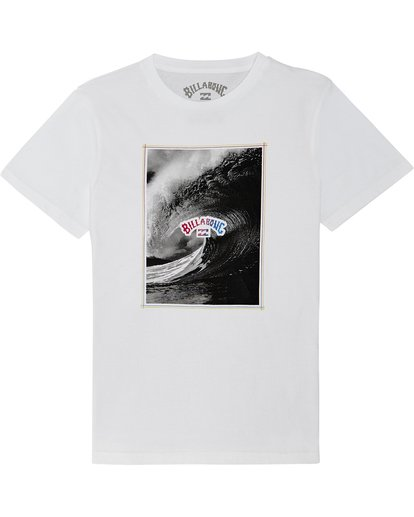 2 The Inside - T-Shirt for Boys White S2SS14BIP0 Billabong