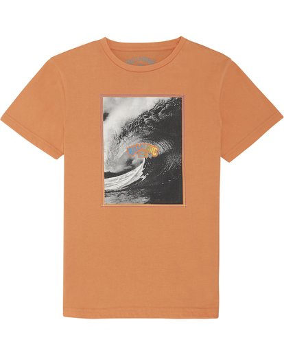 2 The Inside - Camiseta para Niño Naranja S2SS14BIP0 Billabong