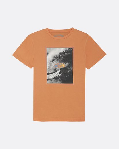 0 The Inside - Camiseta para Niño Naranja S2SS14BIP0 Billabong