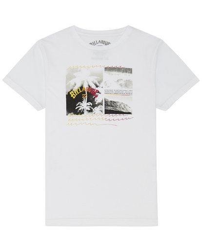 2 Crash - Camiseta para Niño Blanco S2SS15BIP0 Billabong