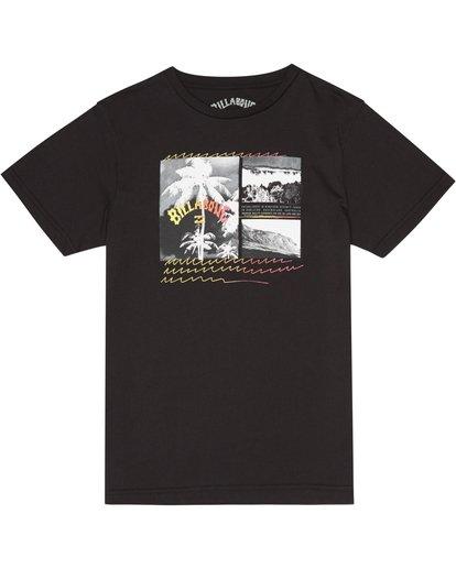 2 Crash - T-Shirt für Jungen Schwarz S2SS15BIP0 Billabong