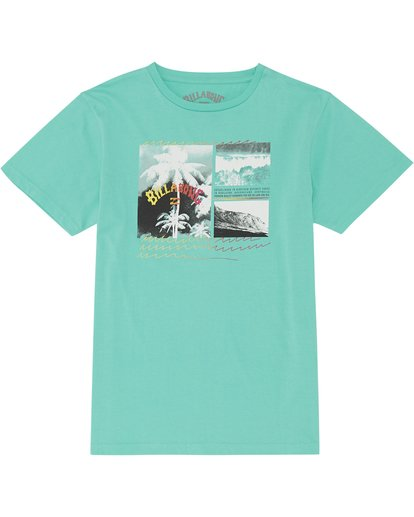 2 Crash - T-Shirt for Boys Blue S2SS15BIP0 Billabong