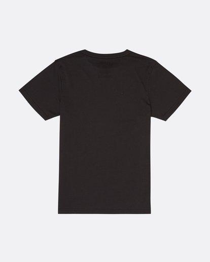 1 Crash - T-Shirt für Jungen Schwarz S2SS15BIP0 Billabong
