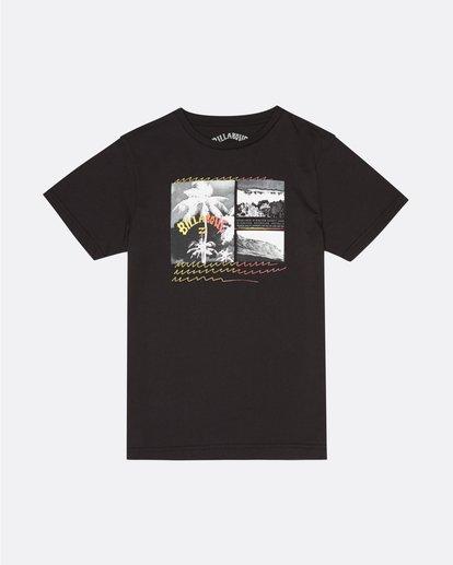 0 Crash - T-Shirt für Jungen Schwarz S2SS15BIP0 Billabong