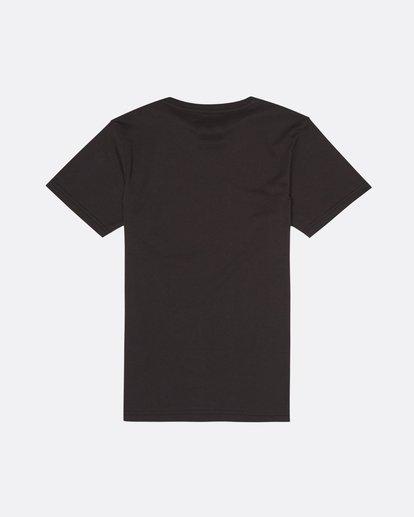 1 Bone Yard - T-Shirt for Boys Black S2SS16BIP0 Billabong