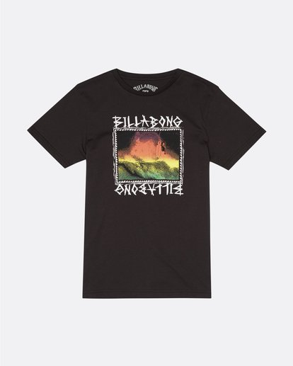 0 Bone Yard - T-Shirt for Boys Black S2SS16BIP0 Billabong