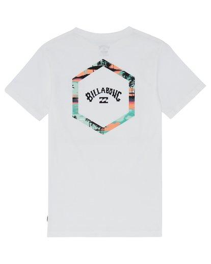 3 Access - T-Shirt for Boys White S2SS17BIP0 Billabong