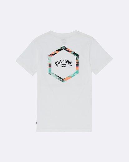 1 Access - T-Shirt for Boys White S2SS17BIP0 Billabong