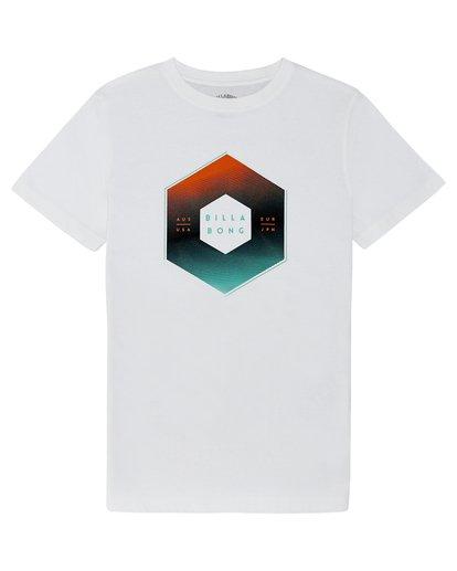 2 X Cess - T-Shirt für Jungen Weiss S2SS18BIP0 Billabong