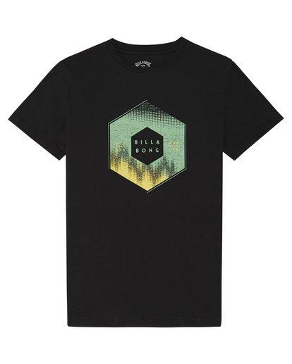 2 X Cess - T-Shirt für Jungen Schwarz S2SS18BIP0 Billabong