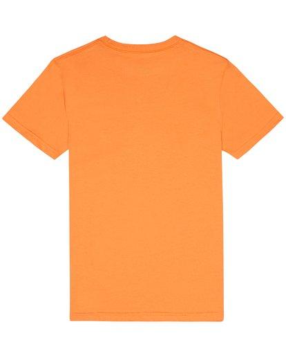 3 X Cess - Camiseta para Niño Naranja S2SS18BIP0 Billabong