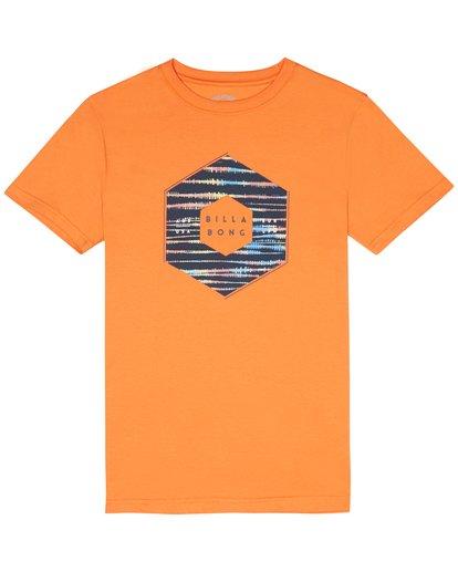 2 X Cess - Camiseta para Niño Naranja S2SS18BIP0 Billabong