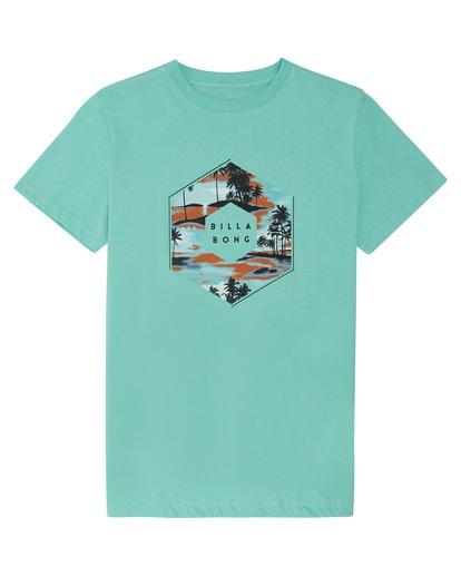 2 X Cess - T-Shirt für Jungen Blau S2SS18BIP0 Billabong