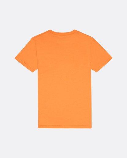1 X Cess - Camiseta para Niño Naranja S2SS18BIP0 Billabong