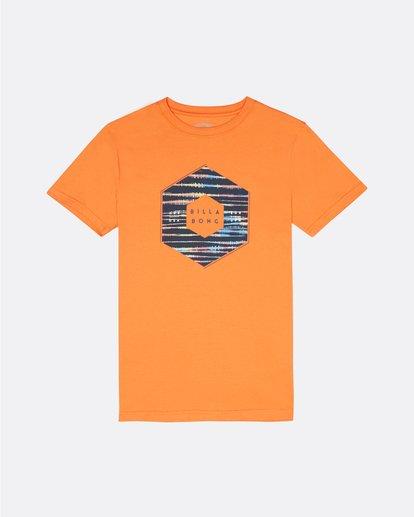 0 X Cess - Camiseta para Niño Naranja S2SS18BIP0 Billabong